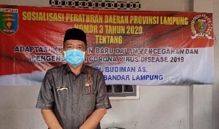 Budiman As Sosper Adaptasi Kebiasaan Baru Di Kecamatan Enggal Saung Berita