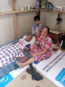 Kondisi keluarga Ujang yang sangat memprihatikan